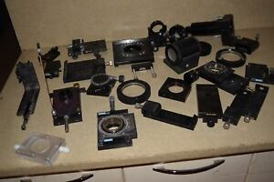 Oriel Stage Mirror Mount Optical Parts Lot Of 25 Pieces br3