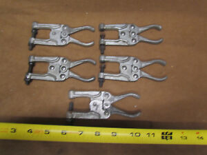 Lot Of 5 Knu vise P 400 1 Welding Welder Clamps Aviation Vise Grips Tool