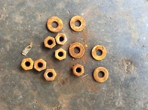 70 81 Camaro Firebird Trans Am Rear Spoiler Nuts And Washers