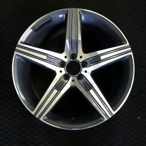 20 Mercedes Benz Amg S class S63 14 2017 2018 Rear Oem Factory Wheel Rim 85357