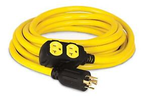 Generator Extension Cord 25 foot 30 amp 125 250 volt Emergency Shed Food Truck
