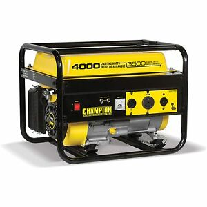 Power Equipment 3500 Watt Rv Ready Portable Generator 30a Gas Powered Electric