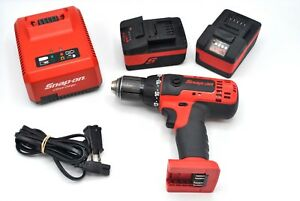 Snap on Tools Cdr8815 18 V 1 2 Drive Monsterlithium Compact Cordless Drill Kit
