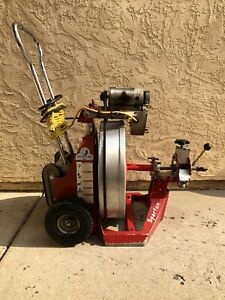 Used Spartan Tool 2001 Drain Cleaning Machine Cleaner Sewer Snake Pipe Line