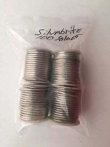 Silvabrite 100 Lead Free Plumbing Solder 1 8 Dia 3 Pounds 11 Ounces 4 Rolls