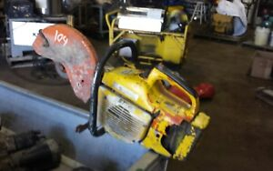 Stihl Ts 400 Concrete Saw For Parts Or Repair No Spark Low Compression