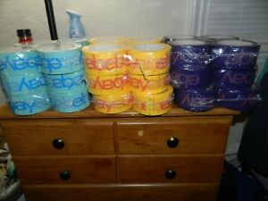Wholesale Lot Of 36 Big Rolls Of Official Ebay Packing Shipping Tape