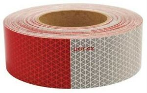 Reflective Conspicuity Safety Tape 2 X 150 Dot 2 Certified Stark 57809