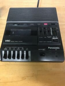 Panasonic Rr 830 Vsc Variable Speech Control Transcriber Cassette Recorder