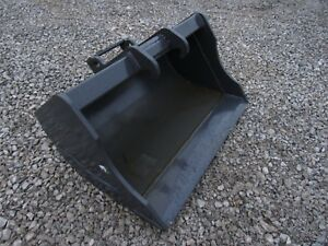 Bobcat Mini Excavator Attachment 36 Hd Ditching Smooth Bucket Ship 149