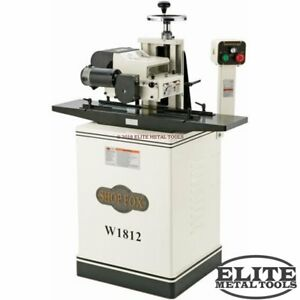 New Woodstock W1812 Shop Fox Planer Molder With Stand