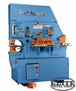 New Scotchman Hydraulic Ironworker Fi 8510 20m