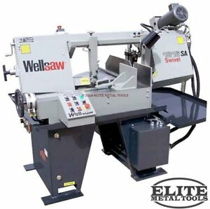 New Wellsaw Model 1316s sa Semi automatic Bandsaw With Swivel Head Feature