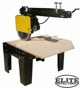 New The Original Saw Company 22 Super Duty Radial Arm Saw With