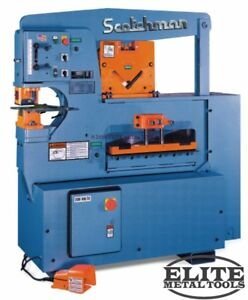 New Scotchman Hydraulic Ironworker 6509 24m