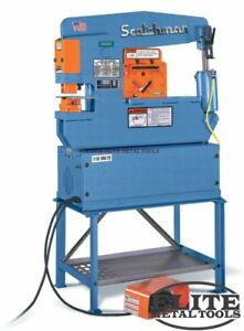 New Scotchman Hydraulic Ironworker Porta Fab 45
