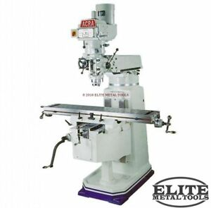 New Acra Variable Speed Milling Machine Am2v