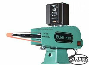 New Burr King 2 X 72 Probe Belt Grinder Model 720