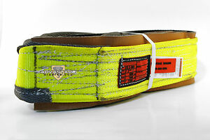 Ee2 903 X8ft Cut Slip Resistant Nylon Lifting Sling Strap 3 Inch 2 Ply 8 Foot