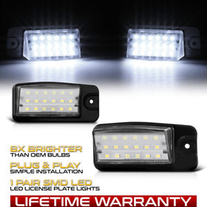 Super Bright White Led License Plate Light For Nissan Altima Maxima Infiniti Fx