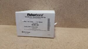 new Qty 600 Fisherbrand Pipette Tips 02 681 161 200ul 1ml P155