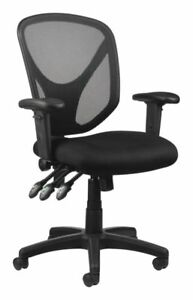 Realspace Mftc 200 Multifunction Ergonomic Super Task Chair Black