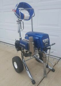 Graco Ultimate Mx Ii 695 Electric Airless Paint Sprayer 795 1095 1595