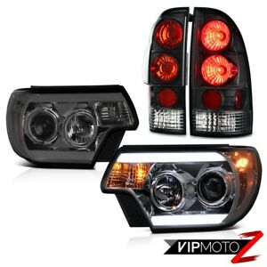 2012 2015 Toyota Tacoma Prerunner Headlights Tail Lamps Cyclop Optic Tron Tube
