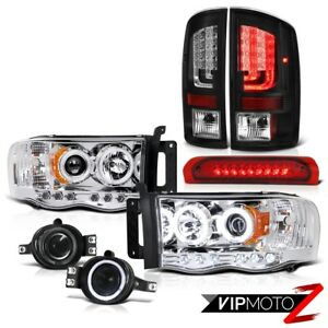 2003 2005 Dodge Ram 1500 3 7l Taillamps Headlamps Smoked Fog Lamps Roof Cab Lamp