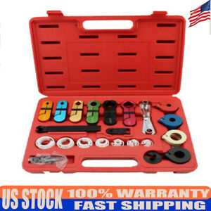 Generic Ac Fuel air Conditioning Line Disconnect Tool Kit Fit For Ford gm New