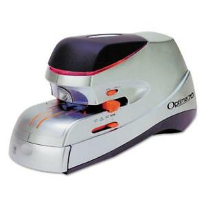 Optima 70 Electric Stapler Full Strip 70 sheet Capacity Silver