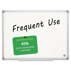 Earth Gold Ultra Magnetic Dry Erase Boards 24 X 36 White Aluminum Frame