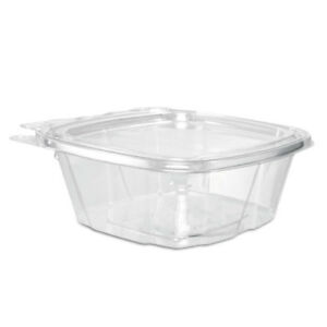 Clearpac Container 4 9 X 2 X 5 5 12 Oz Clear 200 carton