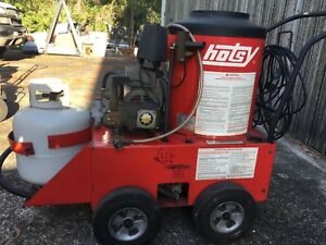 Hotsy Hot Water Steam Cleaner Pressure Washer Model 551b