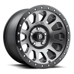 Fuel Vector D601 Rim 18x9 5x127 Offset 1 Anthracite Quantity Of 4