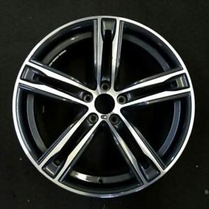 20 Bmw F10 F11 F12 F13 F06 5 6 Series 703m Rear Oem Factory Wheel Rim 7856709