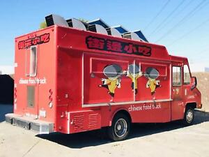 For Sale rent 2014 Ford Los Angeles Famous Chinese Food Truck