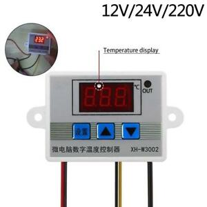 220v 10a Digital Led Temperature Controller Thermostat Control Switch Probe Fz