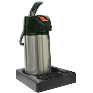 Commercial Papr1 1 Pot Coffee Station Display With 2 0 Liter Airpot Beverage Cen