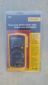 Fluke 112 True Rms Multimeter With Amps And Backlight New Unopen