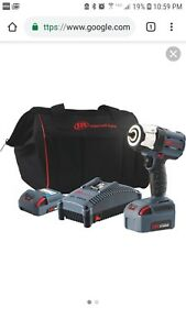 Ingersoll Rand Iqv20 3 8 Drive Impact Wrench 2 battery Kit W5132 k22