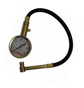 Accu Gage Ra60x 5 60 Psi Right Angle Chuck Dial Tire Pressure Gauge With Hose