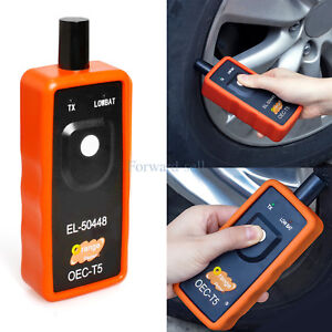 El 50448 Tpms Relearn Tool Auto Tire Pressure Sensor Activation For Gm Orange Us