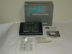 Beckman 310 Ph Meter 300 s Series No Power Adapter Sold As Is