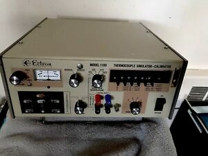 Ectron Model 1100 Portable Benchtop Thermocouple Simulator Calibrator