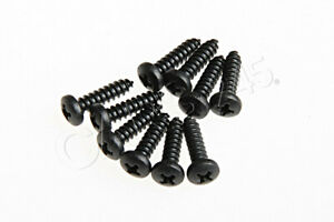 Genuine Vw Audi Seat Oval Head Panel Screw Left And Right 10pcs N0139649