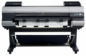 Canon Imageprograf Ipf9000 60 Large Format Color Printer Plotter