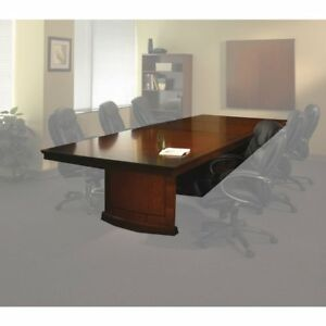 Conference Room Tables 12 Rectangular Bourbon Cherry