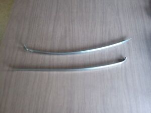 1939 Plymouth Top Grille Bars Stainless Part 793677 793676 Free Shipping