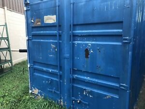 Shipping Container Side Doors